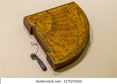 Arabic device for astronomical observations, 15th century.