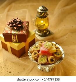 Arabic festive set up