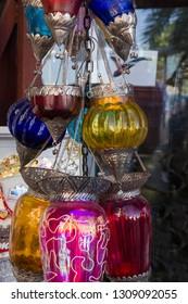 Arabic lamps in Oman, Muscat
