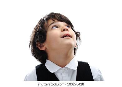 Arabic little kid boy,funny