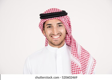 Arabic man in traditional dress
