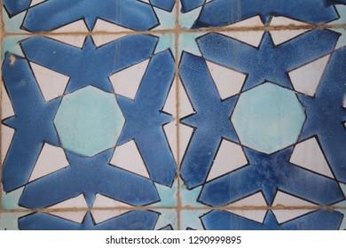 Arabic mosaic, Kuwait.