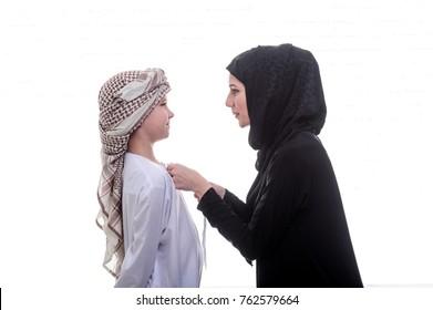 Arab son MOM kön
