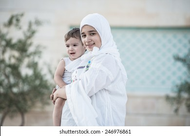 Arabic Muslim Middle Eastern young woman