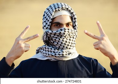 Arabic Palestinian man