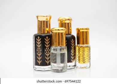 Arabic perfume known as attar, is an essential oil derived from botanical sources. Most commonly these oils are extracted via hydro or steam distillation