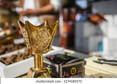 Arabic Shop selling Oud and Oud burner
