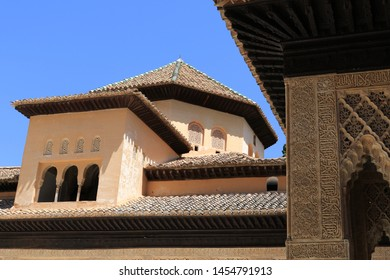 "The arabic text on the walls in Alhambra reads ""There is no victor but Allah"""