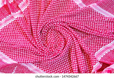 Arabic traditional head clothes scarf