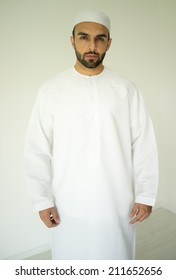 Arabic young man posing