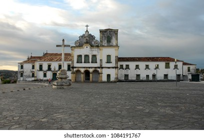 São Cristovão, Aracaju, Brazil, July 22, 2015. Church and convent of San Francisco, located in the municipality of São Cristovão in the city of Aracaju in the state of Sergipe.