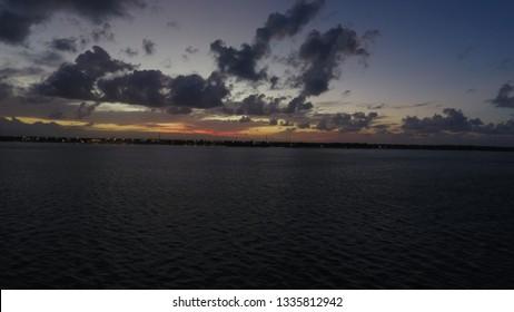 Aracaju, Sergipe / Brazil - July 14 2017: Aracaju's Sea Shore.