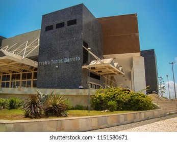 Aracaju/SE/Brazil - 01-21-2009: Teatro Tobias Barreto, inaugurated in March 2002, for 1300 seats, one of the best in the country