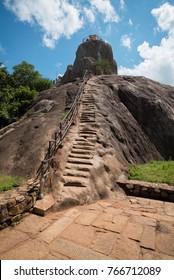 Aradhana Gala (Mihintale Rock) in Mihintale, Sri Lanka, Asia