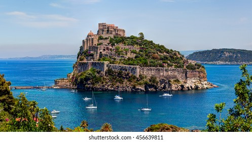 The Aragonese Castle is the most impressive historical monument in Ischia, built by Hiero I  in 474 BC. In 1912 Castle was sold to a private owner. Today it is the most visited monument of the island.