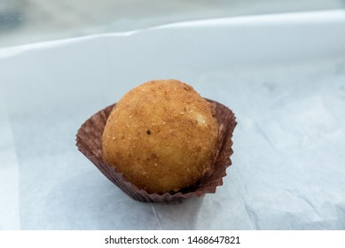 Arancino butter Sicily Italy view