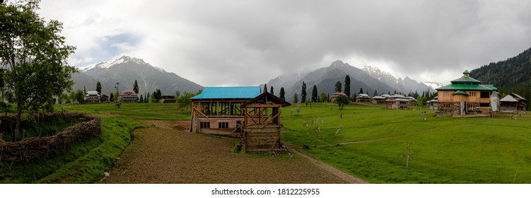 Arang Kel is a village and tourist spot in the Neelam valley of Azad Kashmir.  It is located on the hilltop above Kel at an altitude of 8,379 feet  landscape photography of Kashmir, Pakistan