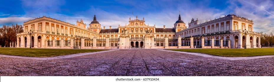 Aranjuez Royal Palace, Madrid, Spain.