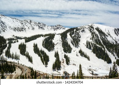Arapahoe Basin Ski Area in the Colorado Rockies