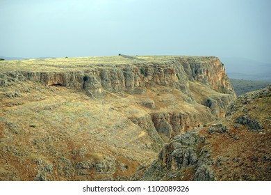 Arbel canyon in Galilee, Israel