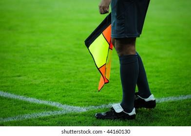 an arbiter is football