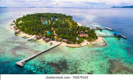 Arborek island. Raja Ampat, West Papua, Indonesia.