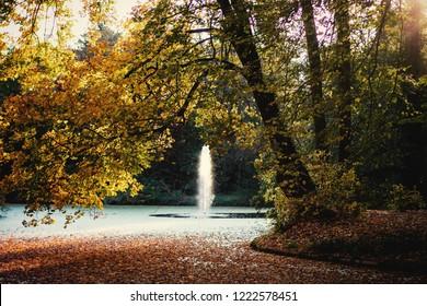 Arboretum in Alcsutdoboz, Hungary