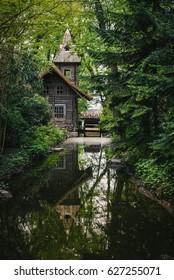 Arboretum, Vacratot, Hungary.