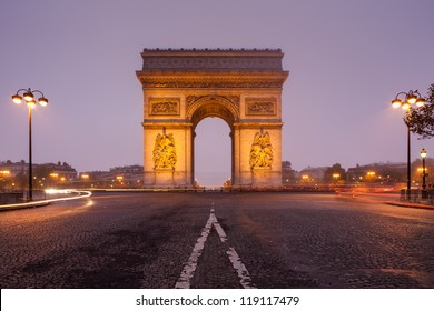 Arc de Tiomphe, Paris