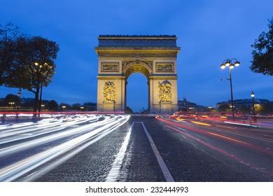 Arc de Triomphe Paris ,France
