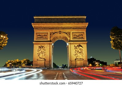 Arc de Triomphe, Paris France