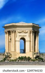 Arc de Triomphe, in Peyrou Garden in Montpellier, France