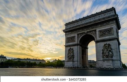 The Arc de Triomphe de l'Étoile (
