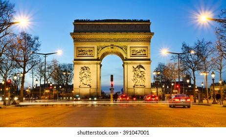 Arc de Triumphe-Paris-France