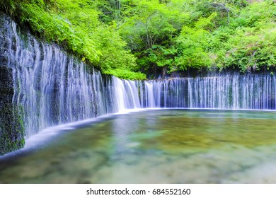 ARC waterfall of fresh green.