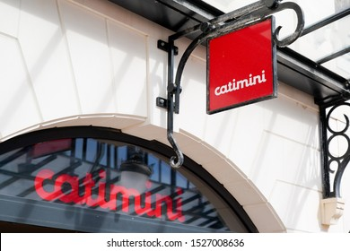 Arcachon , Aquitaine / France - 10 08 2019 : catimini store sign logo shop specialist in children clothing trendy fashion from birth to 14 years