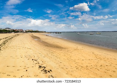 Arcachon Bay, France in a beautiful summer day