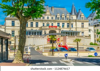 ARCACHON, FRANCE, MAY 15, 2017: Casino in Arcachon