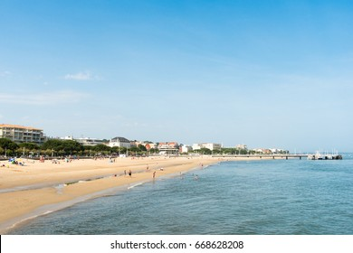 ARCACHON (French Atlantic coast), the beach