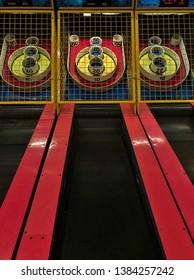 Arcade Games for Kids Playing SkeeBall