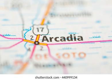 Arcadia Florida Map.Royalty Free Arcadia Map Images Stock Photos Vectors Shutterstock