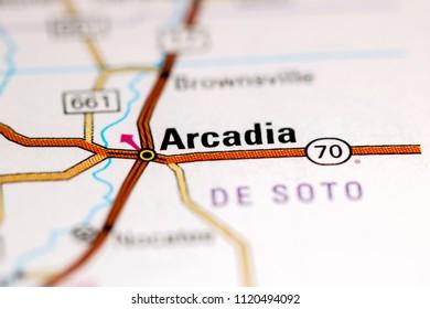 Arcadia Florida Map.500 Arcadia Florida Pictures Royalty Free Images Stock Photos