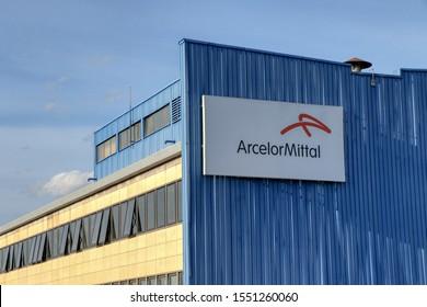 ArcelorMittal (formerly Ilva) steel industry in Taranto, Puglia, Italy - 05/11/2019