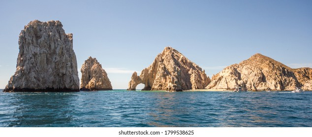 The arch of Cabo San Lucas, is a distinctive rock formation at the southern tip of Cabo San Lucas, which is itself the extreme southern end of Mexico's Baja California Peninsula.