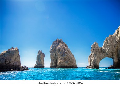 Arch of Cabo San Lucas in Mexico Baja California Peninsula Ocean