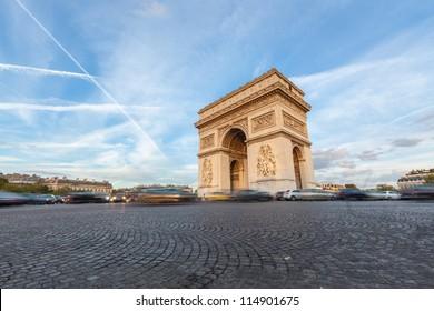 Arch de Triomphe in Paris