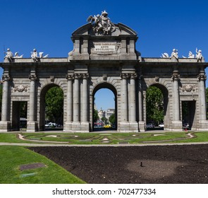 Arch de Triumph in Madrid, Spain