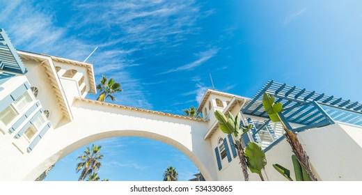 Arch in Pacific Beach, California