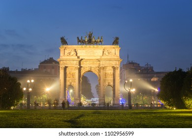 Arch of Peace - Sempione Park, Milan, Italy
