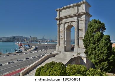 arch of trajan, ancona italy